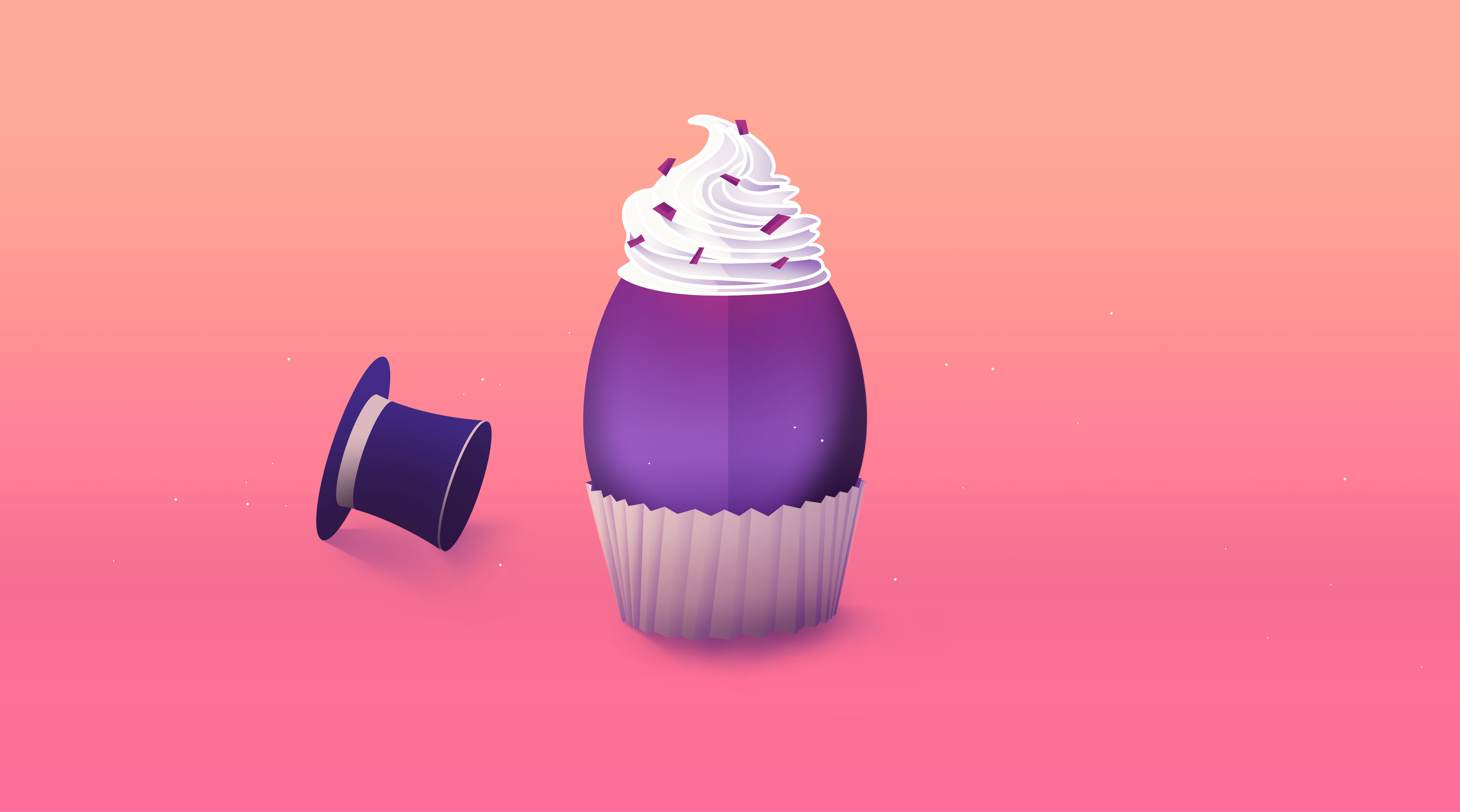 Mad Hatter's favourite cupcake